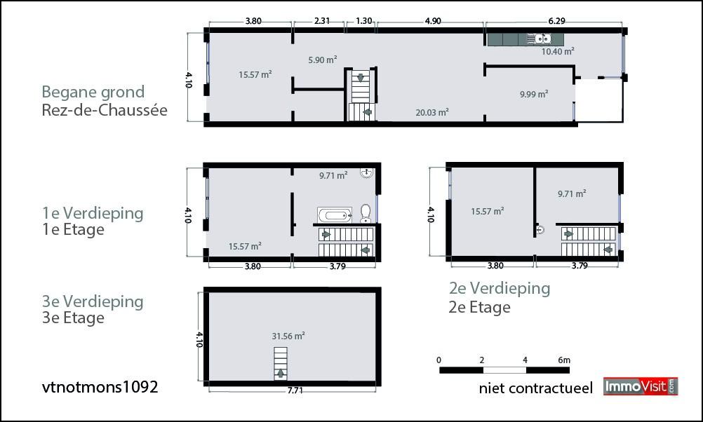 Maison d habitation avec d pendances nvn for Plan maison d habitation