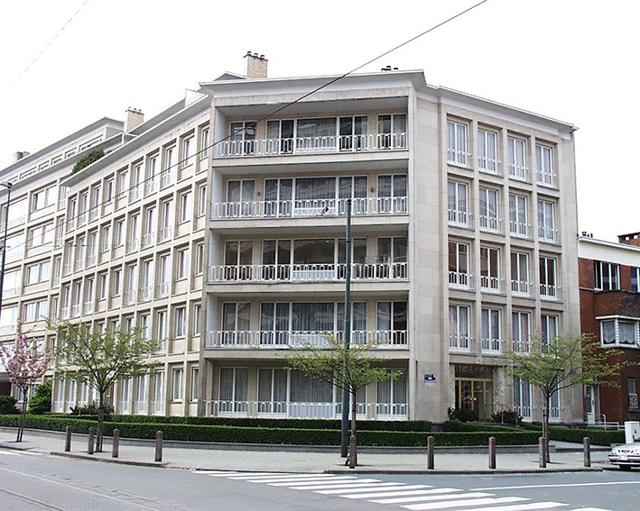 Appartement (19.1.G - +/- 88m²) au 1 étage gauche
