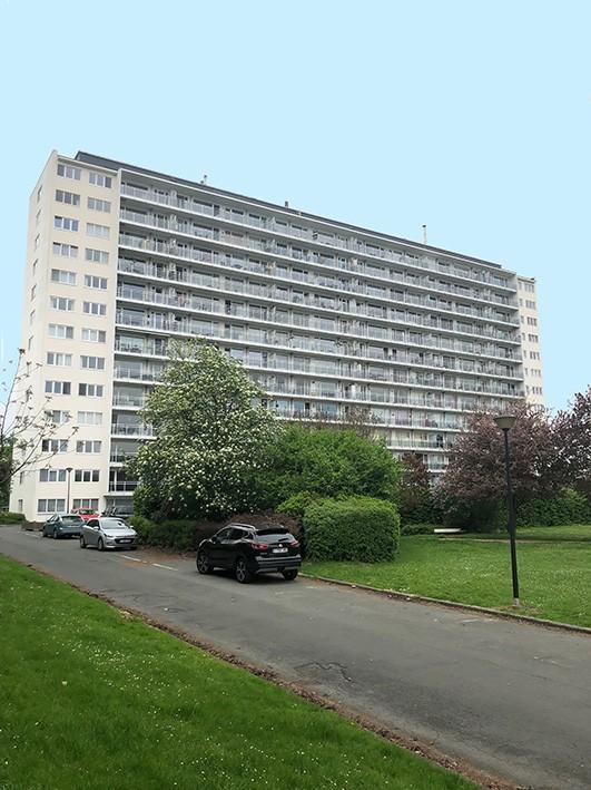 Appartement n° 35 au 9e étage avec terrasse et cave