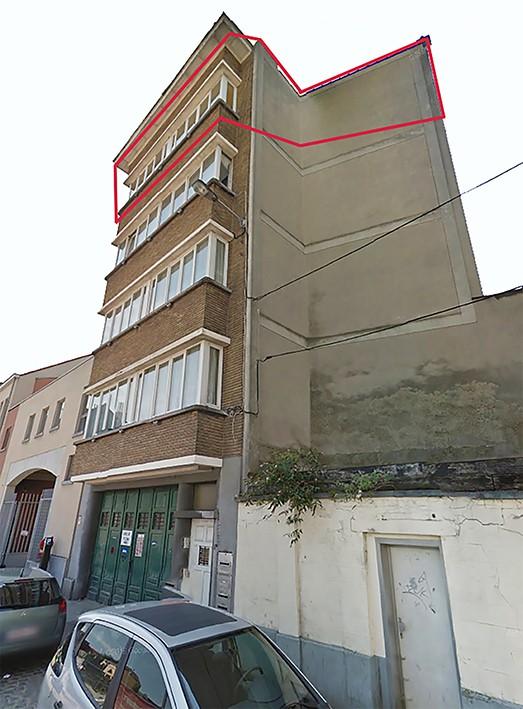 Le lot 5 : Appartement au 4e étage