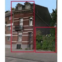 Maison d'habitation et un terrain