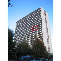 Appartement (C13 - +/- 83m²) 2 chambres au 13e étage avec parking n° 80
