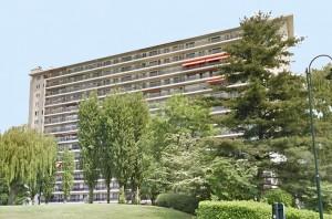 L'appartement n° 24 au 6e étage